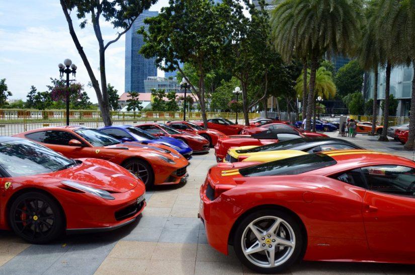Hotel Fullerton em Singapura