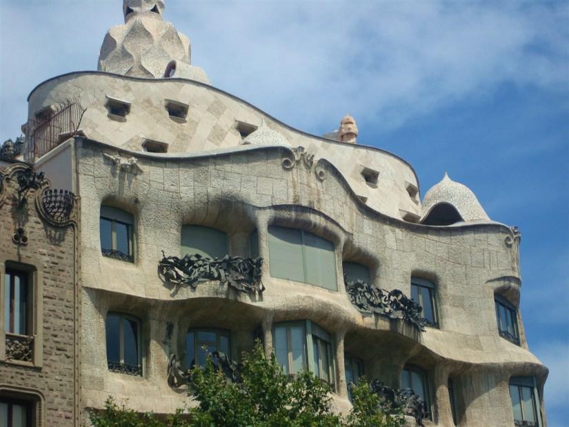 Casa Mila, La Pedrera de Antonio Gaudi