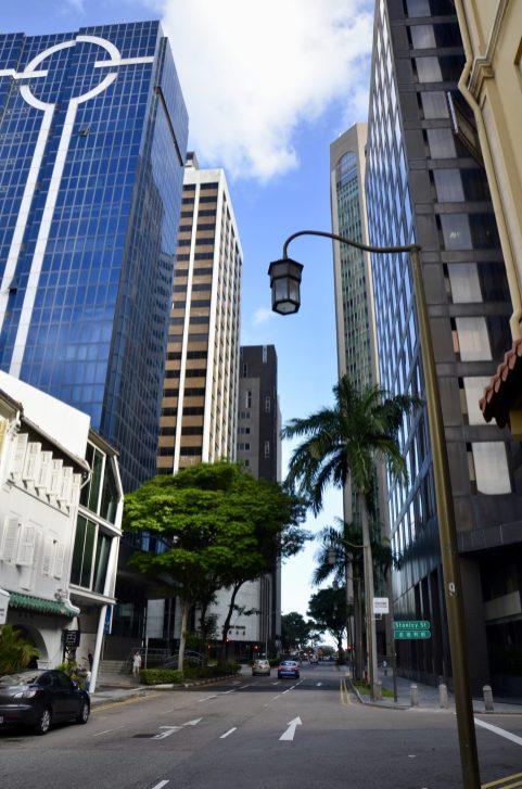 Centro financeiro de Singapura