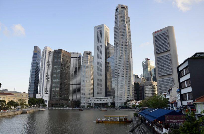 Centro comercial de Singapura