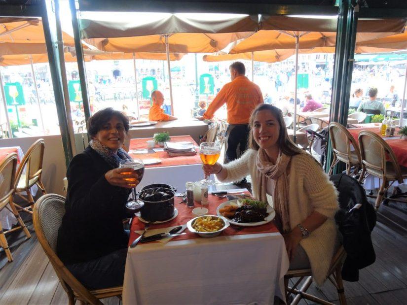 Restaurante típico belga, comida típica belga, cerveja belga