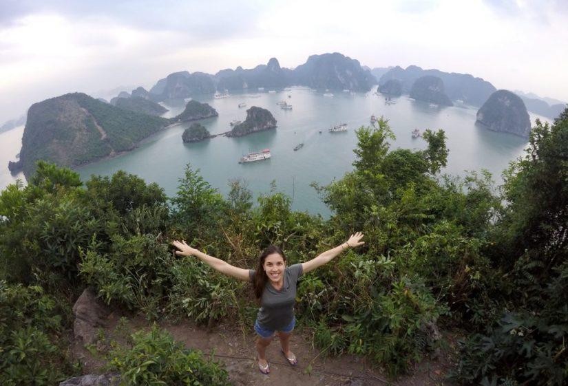10 maiores conquistas, viajar o mundo, Halong Bay
