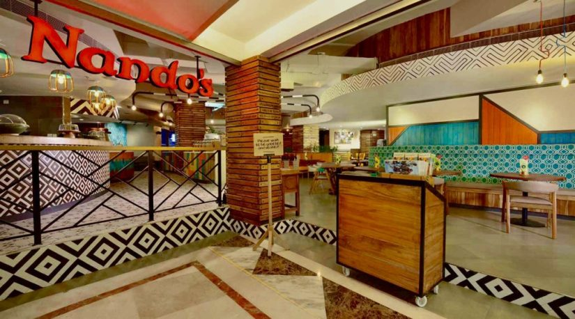 Restaurante Nandos India, Nando's New Delhi