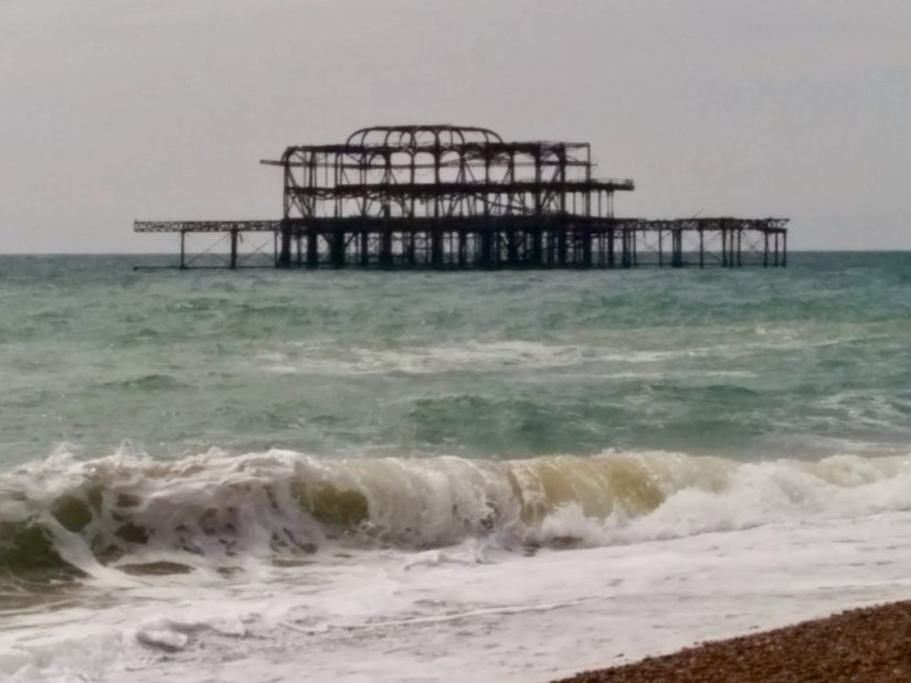 West Pier, burnt pier
