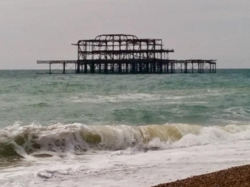 West Pier, burnt pier