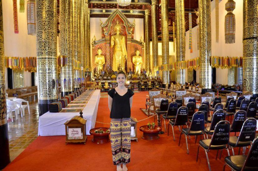 Phra Chao Attarot, Templo Wat Chedi Luang, Tailândia