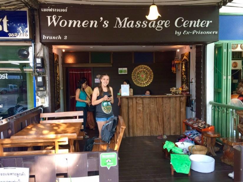 Thai massage in Chiang Mai