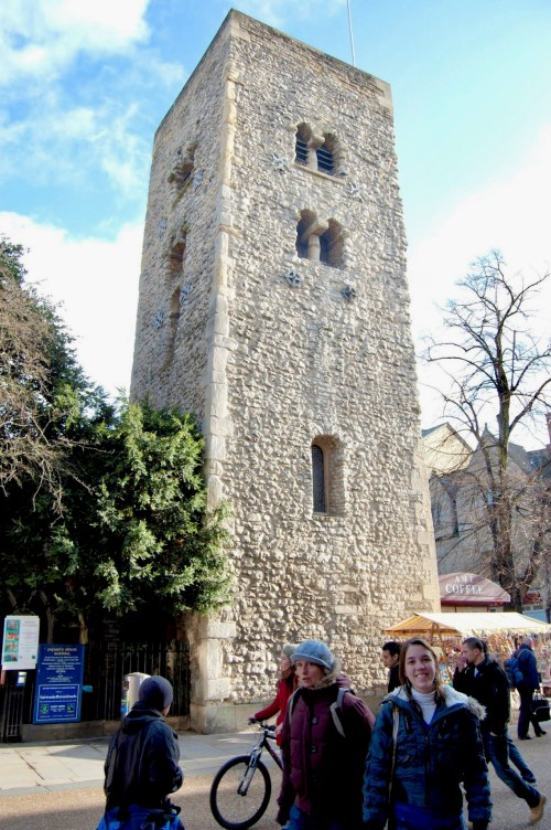 Saxon Tower of Saint Michael at the North Gate