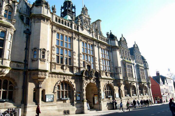 Cidade de Oxford na Inglaterra