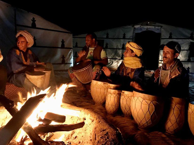 Acampamento, cultura berbere, Merzouga Marrocos