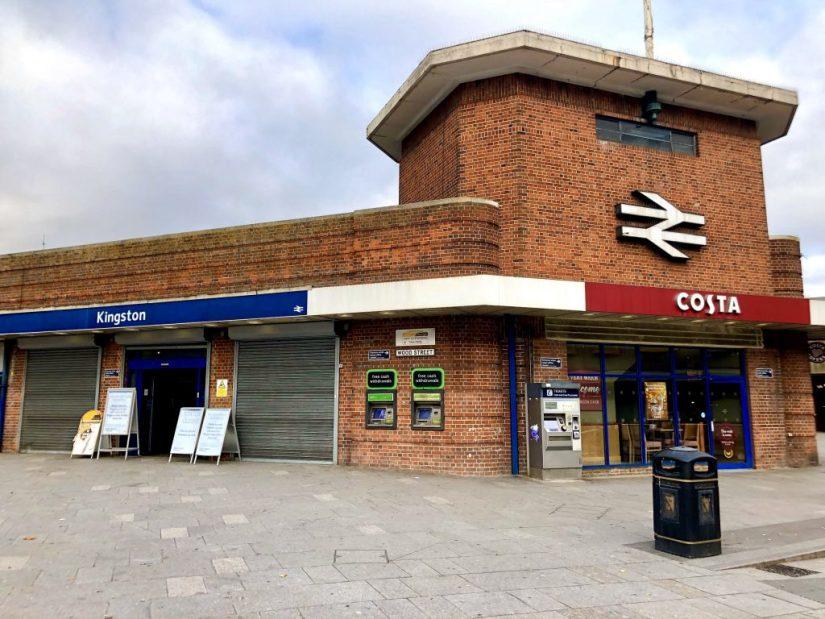 Kingston train station
