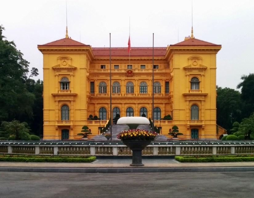 Palácio Presidencial do Vietnã em Hanoi