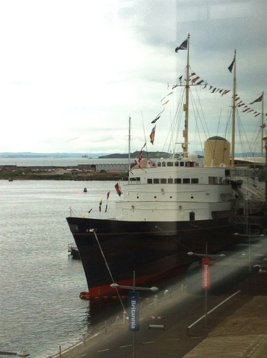 The Royal Yacht Britannia em Edimburgo