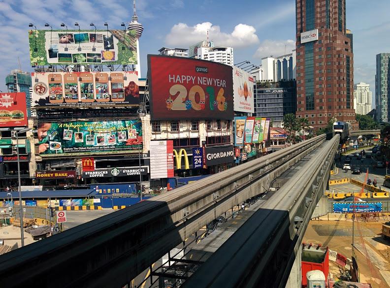 Estação Bukit Bintang (MRT), na Malásia