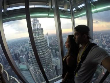 Deck de observação das Torres Petronas