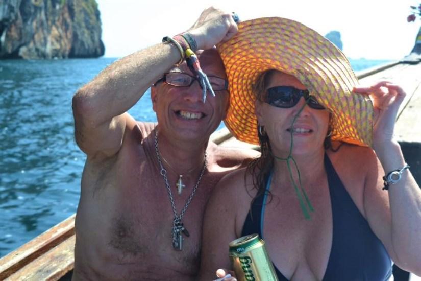 Couple in Maya Bay