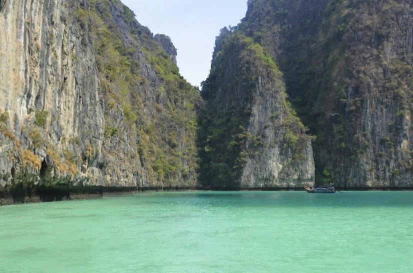 Maya Bay em Koh Phi Phi Leh, na Tailândia