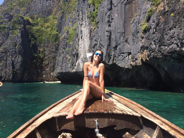Maya Bay photo idea
