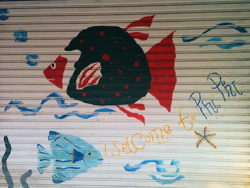 Welcome to Phi Phi grafitti
