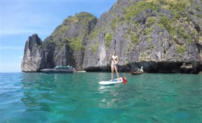Paddle Board in Koh Phi Phi Leh