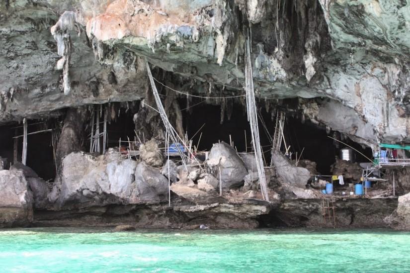 Viking Cave em Koh Phi Phi Leh, na Tailândia