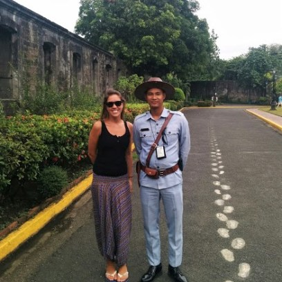 Fort Santiago guard, Intramuros