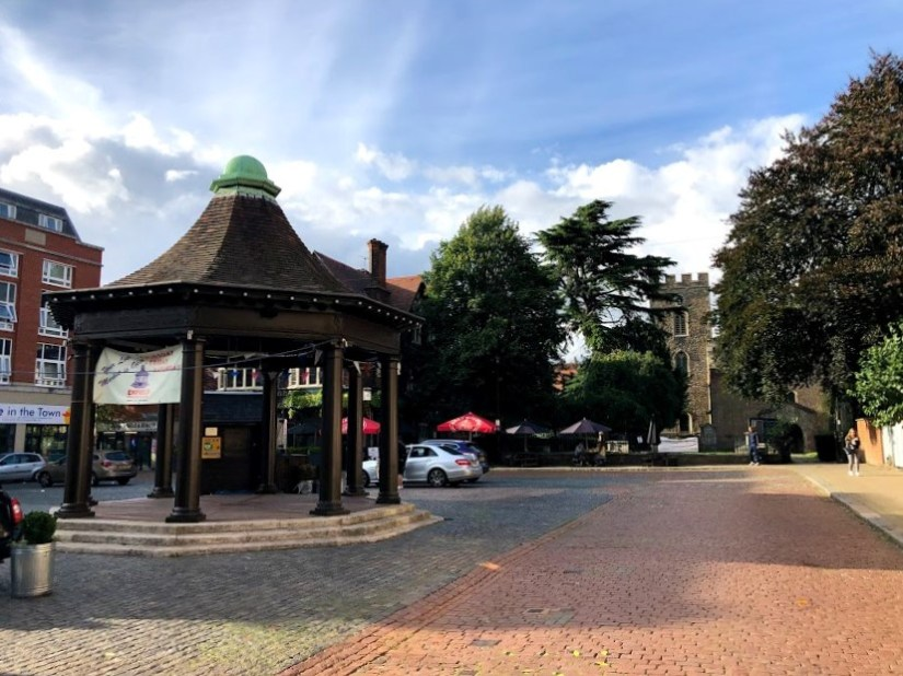 Market Place, Enfield Town