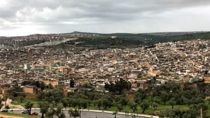 Fez Panoramic View