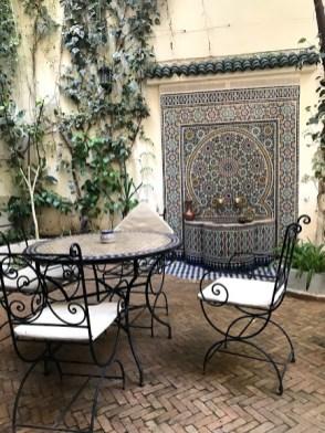 Patio Riad Jardin Chrifa