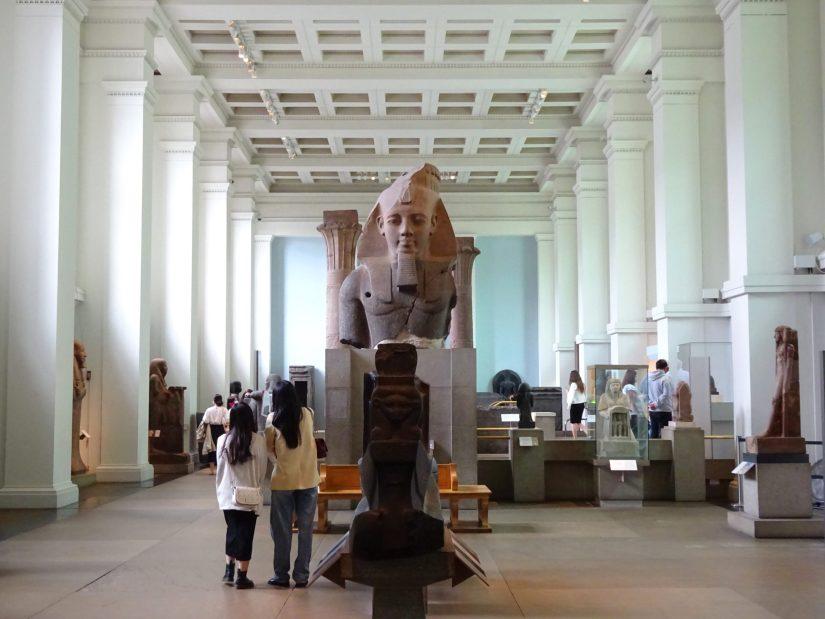 Museu Britânico em um dia - busto do faraó Ramses II