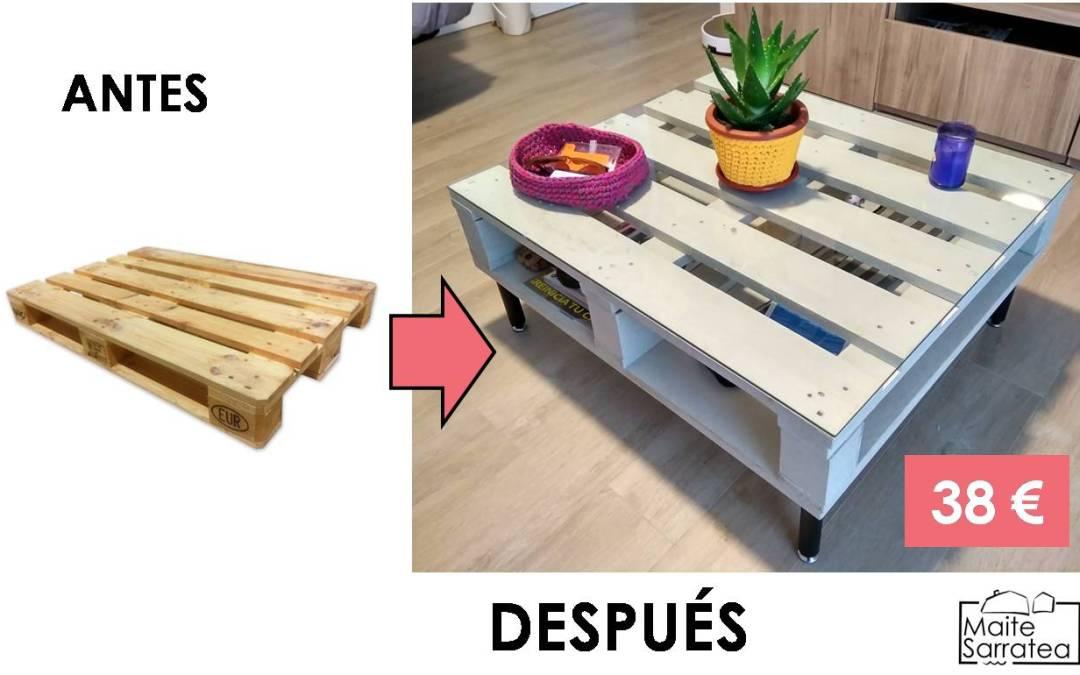 DIY: Cómo convertir un palet en centro de mesa en tan solo 6 sencillos pasos