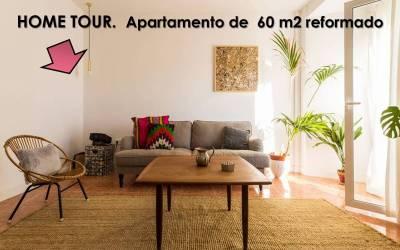 Home tour. Un antiguo apartamento reformado de forma sencilla