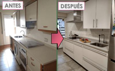Antes y después: las 6 claves + 4 trucos para convertir mi cocina en la mejor estancia de la casa