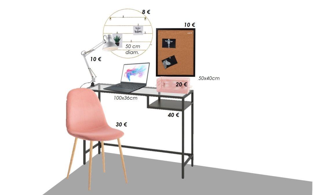 Monta tu oficina en casa por menos de 120 € sin renunciar a la comodidad