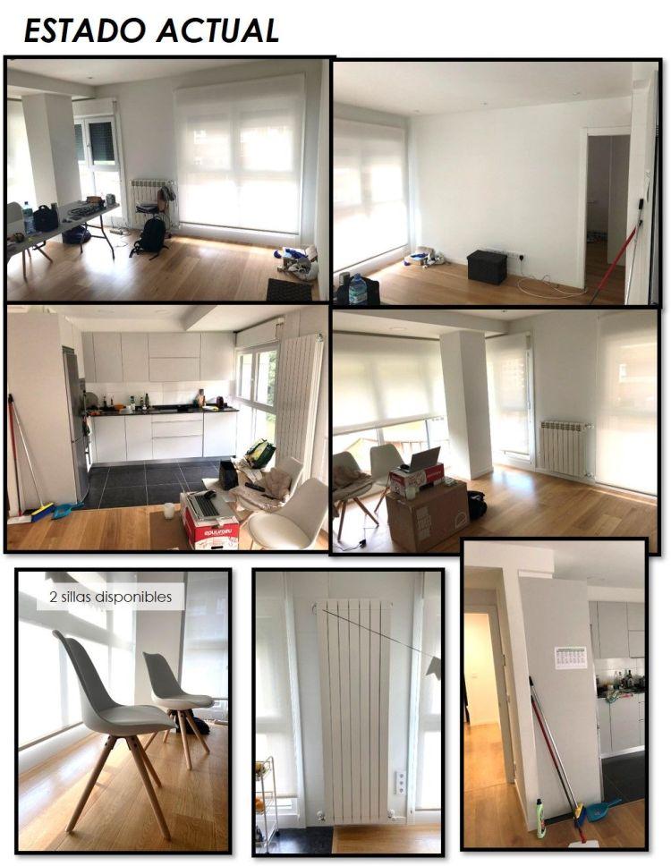 propuesta decorativa para recibidor, salón y cocina 2