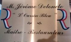 Jérôme DELONCLE,restaurant l'Oursin Bleu à Vilefranche-sur-Mer, rejoint les maîtres-restaurateurs des Alpes-Maritimes.