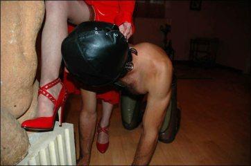 Esclave aux pieds