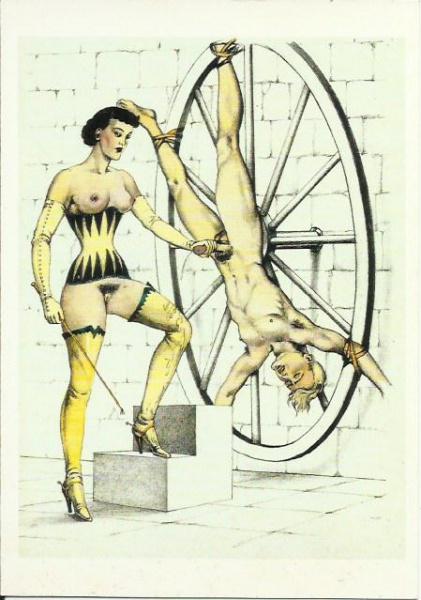 dessin illustration soumis torture