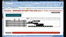 EXCEL_2007_EX_GRAPHIQUE_DE_GANTT_JOUR_avec_Avancement_Gantt_Chart_by_day_with_compl