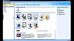 Access 2007 créer une base de données vide