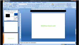 Comment faire un effet fin de vidéo sur Powerpoint