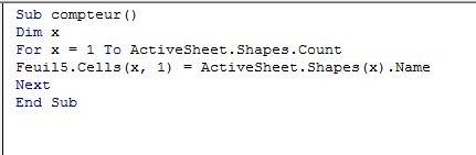 Comment réaliser une carte dynamique avec une forme libre dans Excel