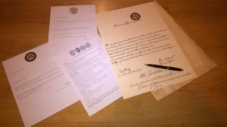 Comment faire une lettre d'admission Harry Potter pour Poudlard en moins de 15 min.