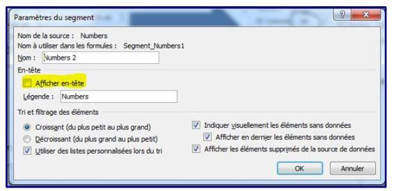 EXCEL 2010 LES SEGMENTS : Comment faire des segments sur Excel 2010 en moins de 5 min.