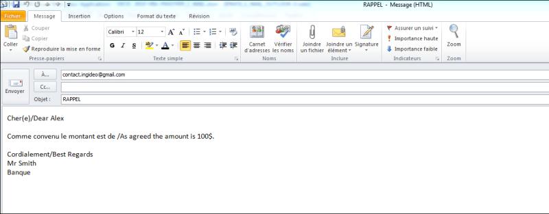 Excel 2010 : Comment envoyer un e-mail Outlook 2010 personnalisé en VBA en moins de 5 min.EXCEL_2010_VBA_ENVOYER_E_MAIL_PERSONNALISE_OUTLOOK