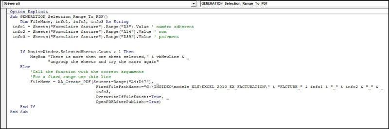 Excel 2010 : Comment générer un pdf d'une plage de cellule Excel en VBA en moins de 6 min.EXCEL_2010_EX_FACTURE_PLAGE_EN_PDF