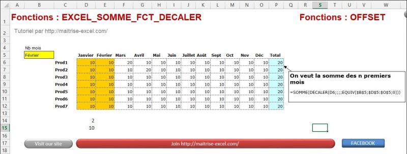 Excel 2010 : Comment faire une somme sur mois selectionné via Excel en moins de 5 min.