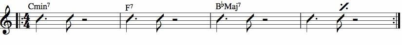 comping rythmique 1