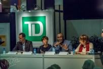 vue d'ensemble, conférence de politiciens, Place TD, salon du livre, Place Bonaventure, Montréal, Qc