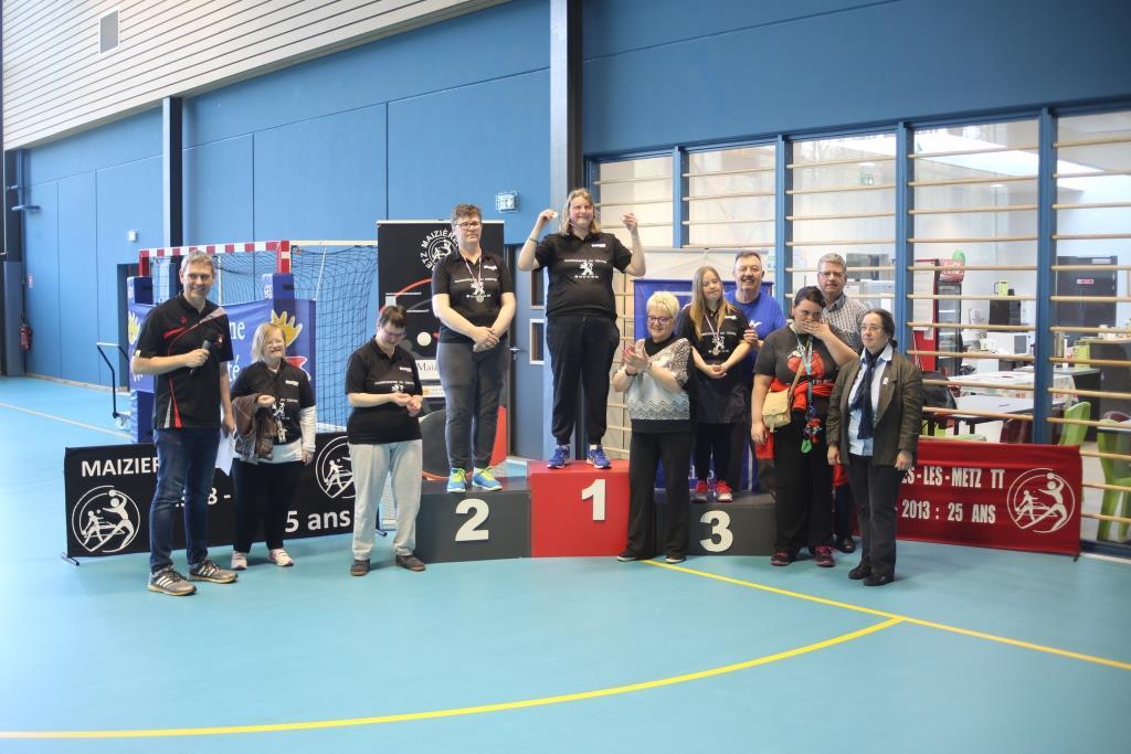 Des championnats de lorraine de sport adapt et handisport - Ligue de lorraine de tennis de table ...
